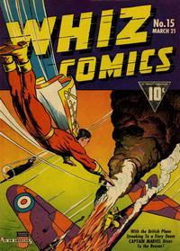 Cover Thumbnail for Whiz Comics (Fawcett, 1940 series) #15