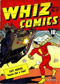 Cover Thumbnail for Whiz Comics (Fawcett, 1940 series) #17