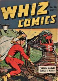 Cover Thumbnail for Whiz Comics (Fawcett, 1940 series) #18