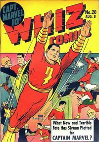 Cover Thumbnail for Whiz Comics (Fawcett, 1940 series) #20