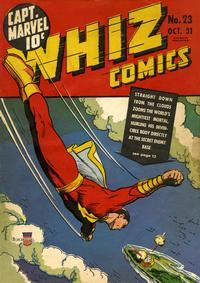 Cover Thumbnail for Whiz Comics (Fawcett, 1940 series) #23