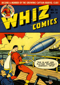 Cover Thumbnail for Whiz Comics (Fawcett, 1940 series) #24