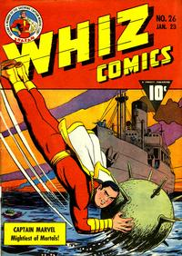 Cover Thumbnail for Whiz Comics (Fawcett, 1940 series) #26