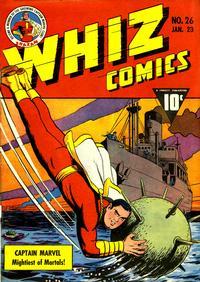 Cover Thumbnail for Whiz Comics (Fawcett, 1940 series) #26