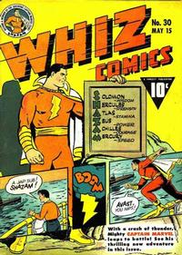 Cover Thumbnail for Whiz Comics (Fawcett, 1940 series) #30