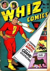 Cover Thumbnail for Whiz Comics (Fawcett, 1940 series) #38