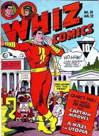 Cover Thumbnail for Whiz Comics (Fawcett, 1940 series) #39
