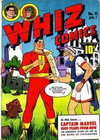 Cover Thumbnail for Whiz Comics (Fawcett, 1940 series) #41