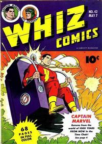Cover Thumbnail for Whiz Comics (Fawcett, 1940 series) #42