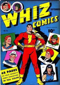Cover Thumbnail for Whiz Comics (Fawcett, 1940 series) #46