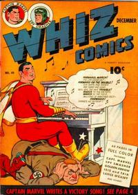 Cover Thumbnail for Whiz Comics (Fawcett, 1940 series) #49