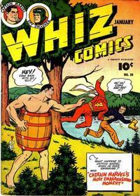 Cover Thumbnail for Whiz Comics (Fawcett, 1940 series) #50