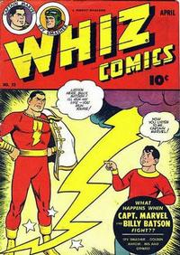 Cover Thumbnail for Whiz Comics (Fawcett, 1940 series) #53