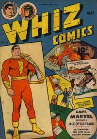 Cover Thumbnail for Whiz Comics (Fawcett, 1940 series) #54