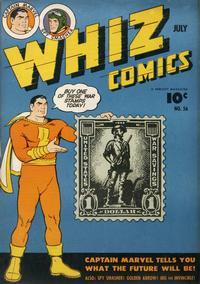 Cover Thumbnail for Whiz Comics (Fawcett, 1940 series) #56