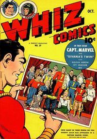 Cover Thumbnail for Whiz Comics (Fawcett, 1940 series) #59
