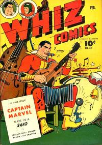 Cover Thumbnail for Whiz Comics (Fawcett, 1940 series) #62