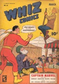Cover Thumbnail for Whiz Comics (Fawcett, 1940 series) #63