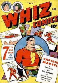Cover Thumbnail for Whiz Comics (Fawcett, 1940 series) #66