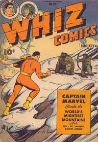 Cover Thumbnail for Whiz Comics (Fawcett, 1940 series) #70