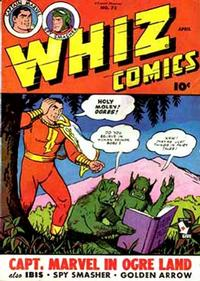 Cover Thumbnail for Whiz Comics (Fawcett, 1940 series) #73