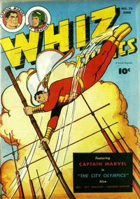 Cover Thumbnail for Whiz Comics (Fawcett, 1940 series) #75