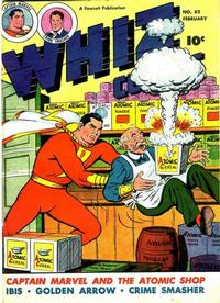 Cover for Whiz Comics (Fawcett, 1940 series) #82