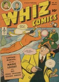 Cover Thumbnail for Whiz Comics (Fawcett, 1940 series) #83