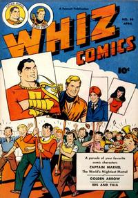 Cover Thumbnail for Whiz Comics (Fawcett, 1940 series) #84