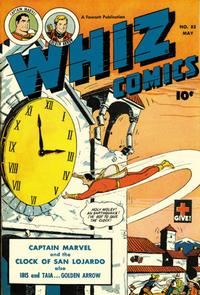 Cover Thumbnail for Whiz Comics (Fawcett, 1940 series) #85