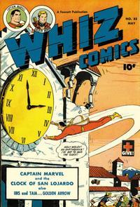 Cover Thumbnail for Whiz Comics (Fawcett, 1940 series) #85