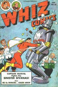Cover Thumbnail for Whiz Comics (Fawcett, 1940 series) #86