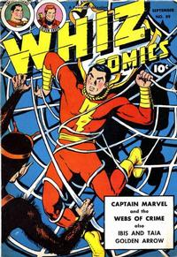 Cover Thumbnail for Whiz Comics (Fawcett, 1940 series) #89