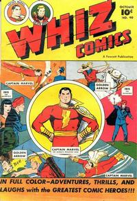 Cover Thumbnail for Whiz Comics (Fawcett, 1940 series) #90