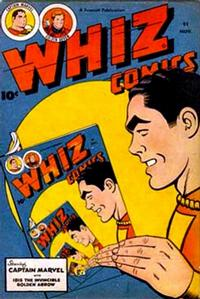 Cover Thumbnail for Whiz Comics (Fawcett, 1940 series) #91