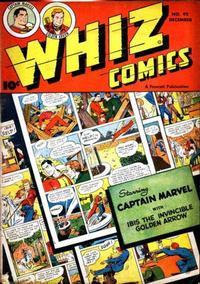 Cover Thumbnail for Whiz Comics (Fawcett, 1940 series) #92