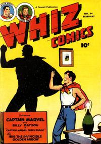 Cover Thumbnail for Whiz Comics (Fawcett, 1940 series) #94