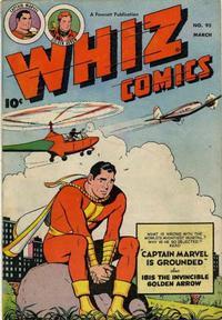 Cover Thumbnail for Whiz Comics (Fawcett, 1940 series) #95