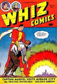 Cover Thumbnail for Whiz Comics (Fawcett, 1940 series) #97
