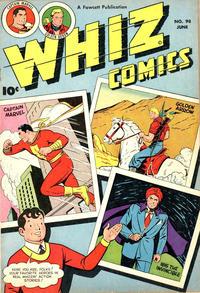 Cover Thumbnail for Whiz Comics (Fawcett, 1940 series) #98