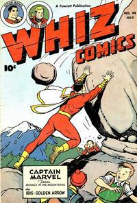 Cover Thumbnail for Whiz Comics (Fawcett, 1940 series) #99