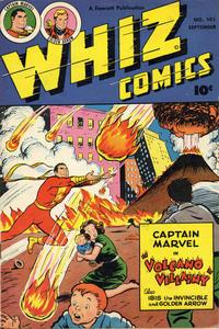 Cover Thumbnail for Whiz Comics (Fawcett, 1940 series) #101