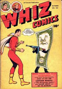 Cover Thumbnail for Whiz Comics (Fawcett, 1940 series) #102