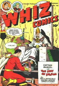 Cover Thumbnail for Whiz Comics (Fawcett, 1940 series) #105