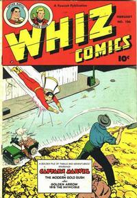 Cover Thumbnail for Whiz Comics (Fawcett, 1940 series) #106