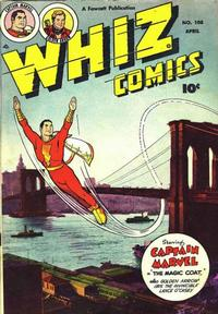 Cover Thumbnail for Whiz Comics (Fawcett, 1940 series) #108