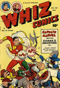 Cover Thumbnail for Whiz Comics (Fawcett, 1940 series) #109