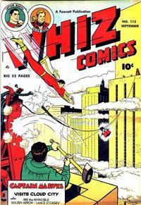 Cover Thumbnail for Whiz Comics (Fawcett, 1940 series) #113