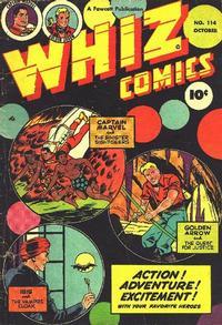 Cover Thumbnail for Whiz Comics (Fawcett, 1940 series) #114