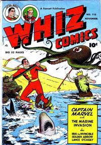 Cover Thumbnail for Whiz Comics (Fawcett, 1940 series) #115